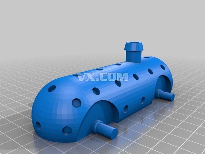 玩具火车3d打印_stl_创意设计_3d模型_图纸下载_微小网