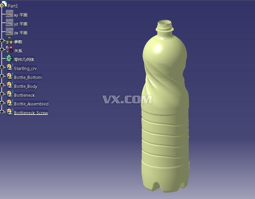 矿泉水瓶子详细步骤