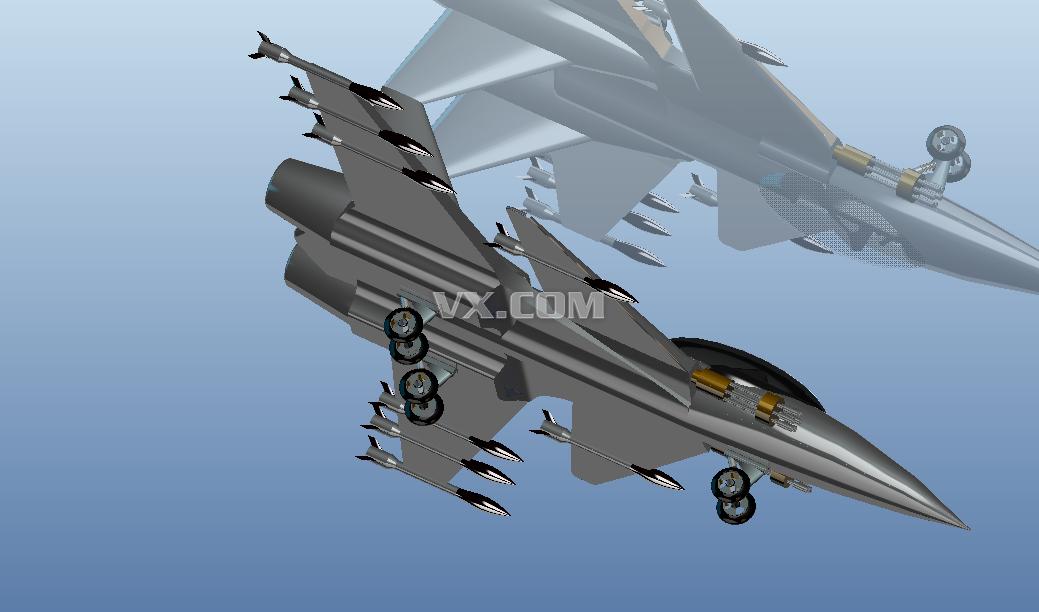 proe飞机造型_pro/e_交通工具