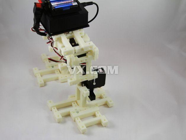 雙足機器人3d打印