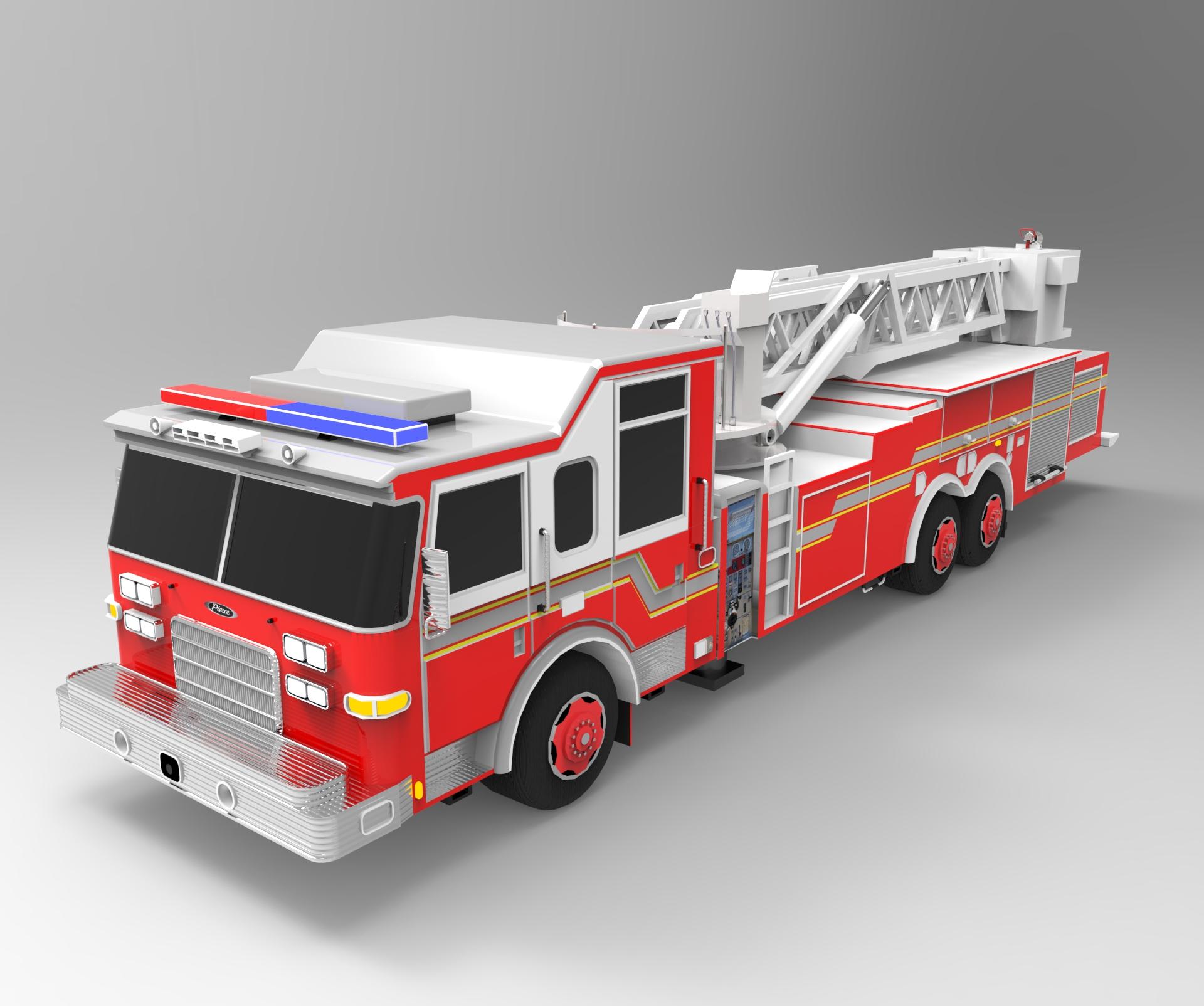 乐高消防车拼装图纸步骤