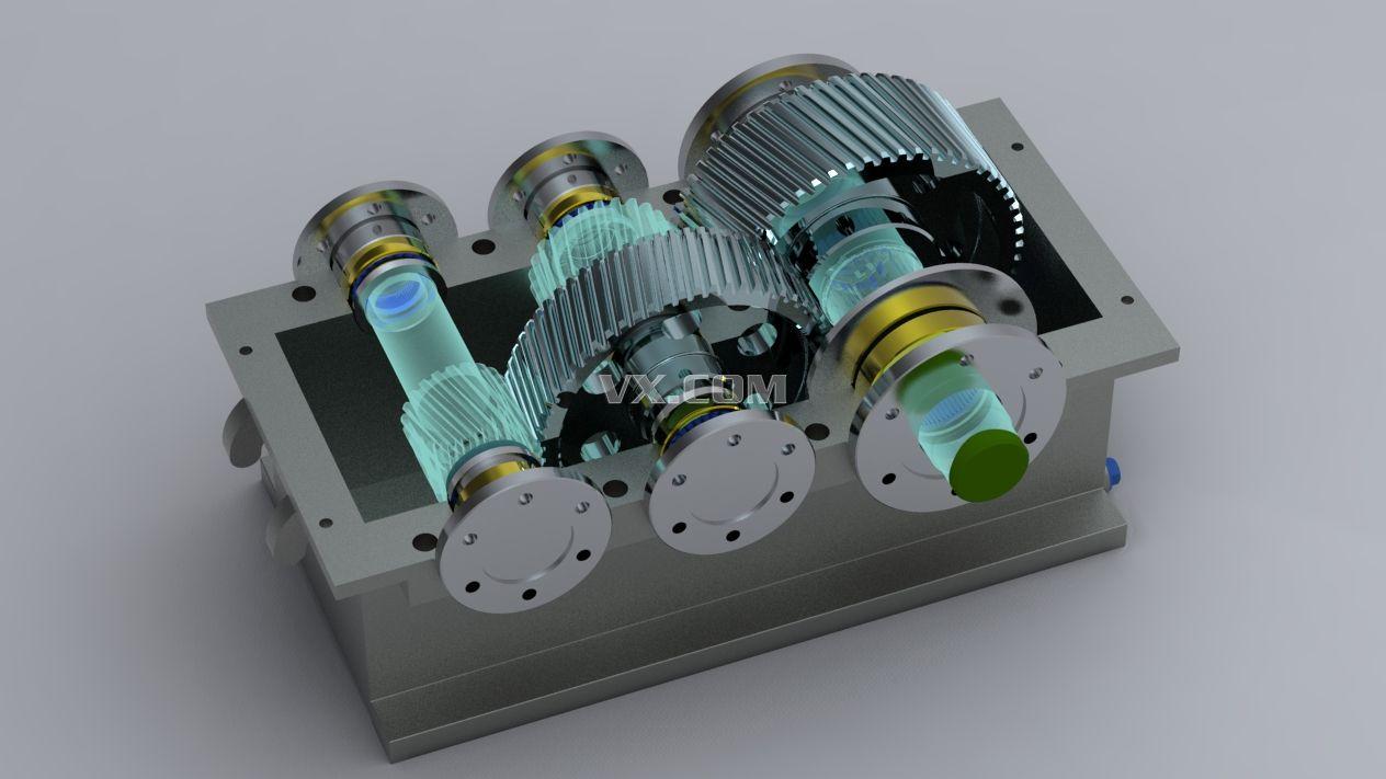 减速器_catia_机械设备