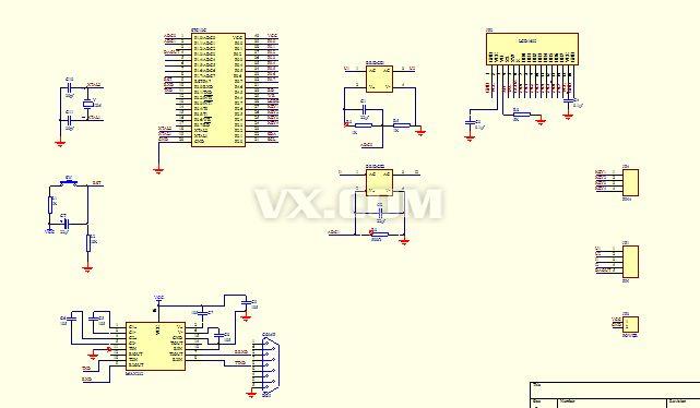 电加热丝智能控制器pcb图纸