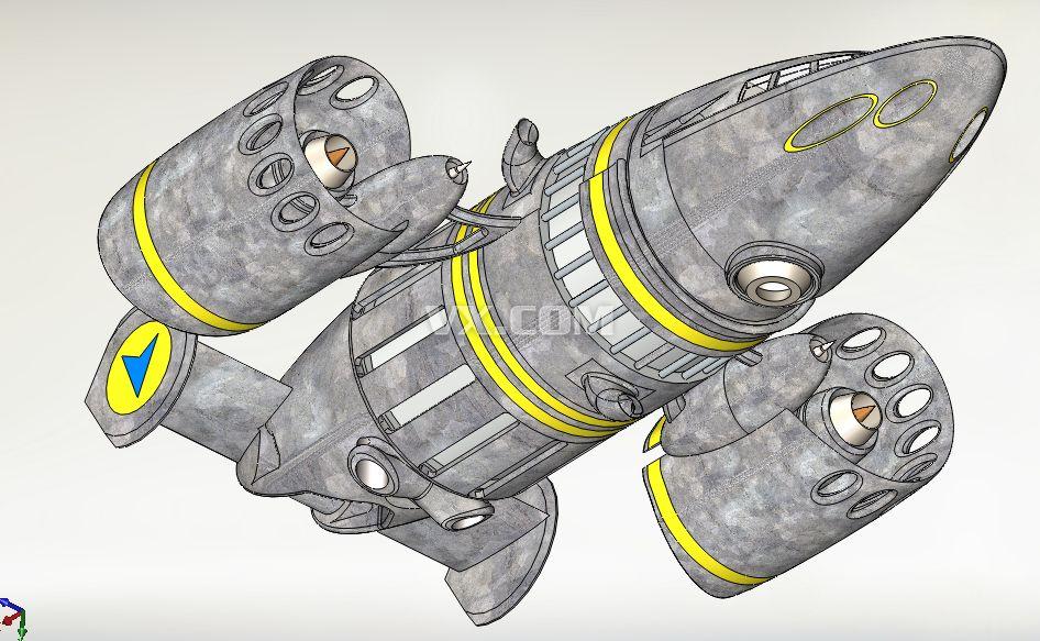 外星人的太空飞船