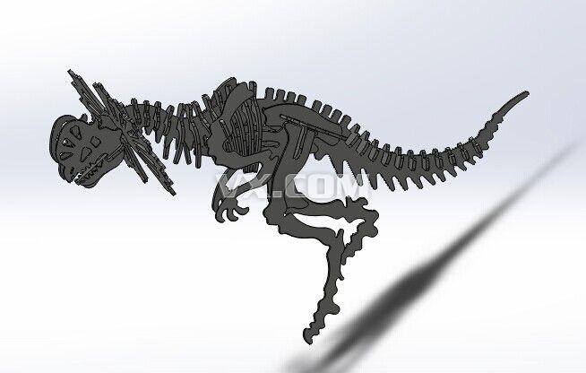 机械恐龙_solidworks_机械设备