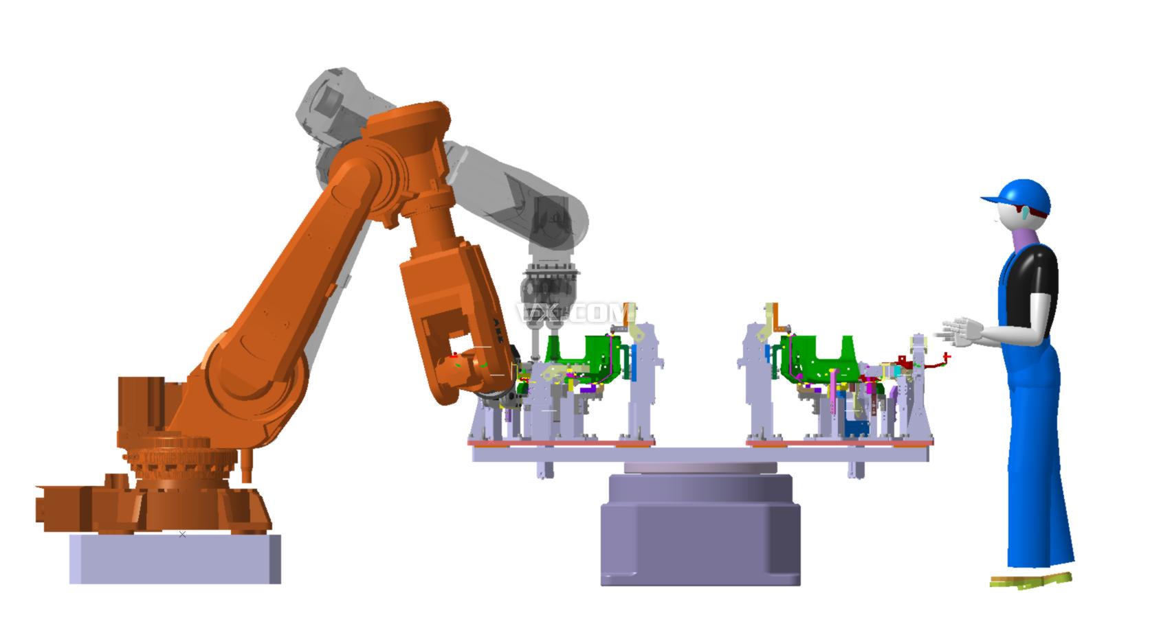 abb机器人自动焊接工作站