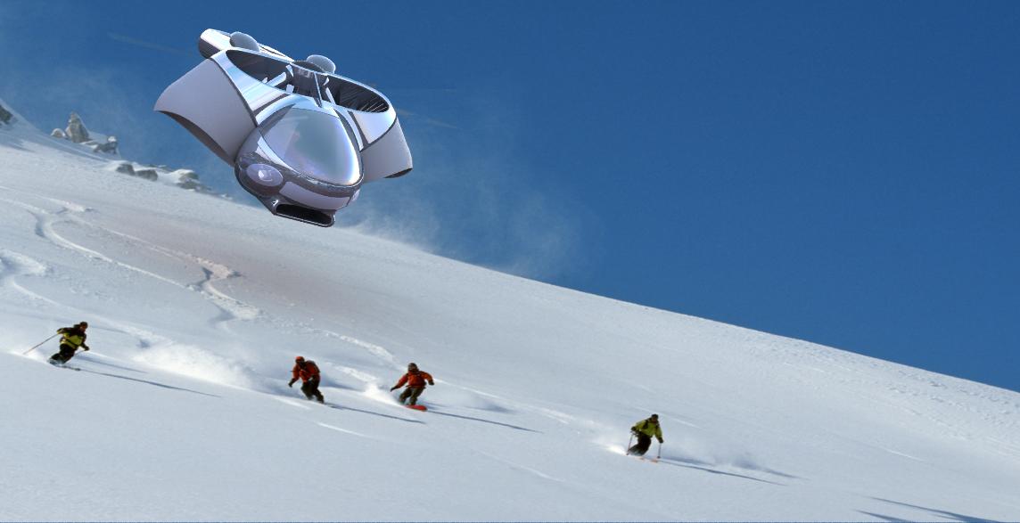 2014年美国tf-x飞行汽车概念设计挑战参赛作品khr