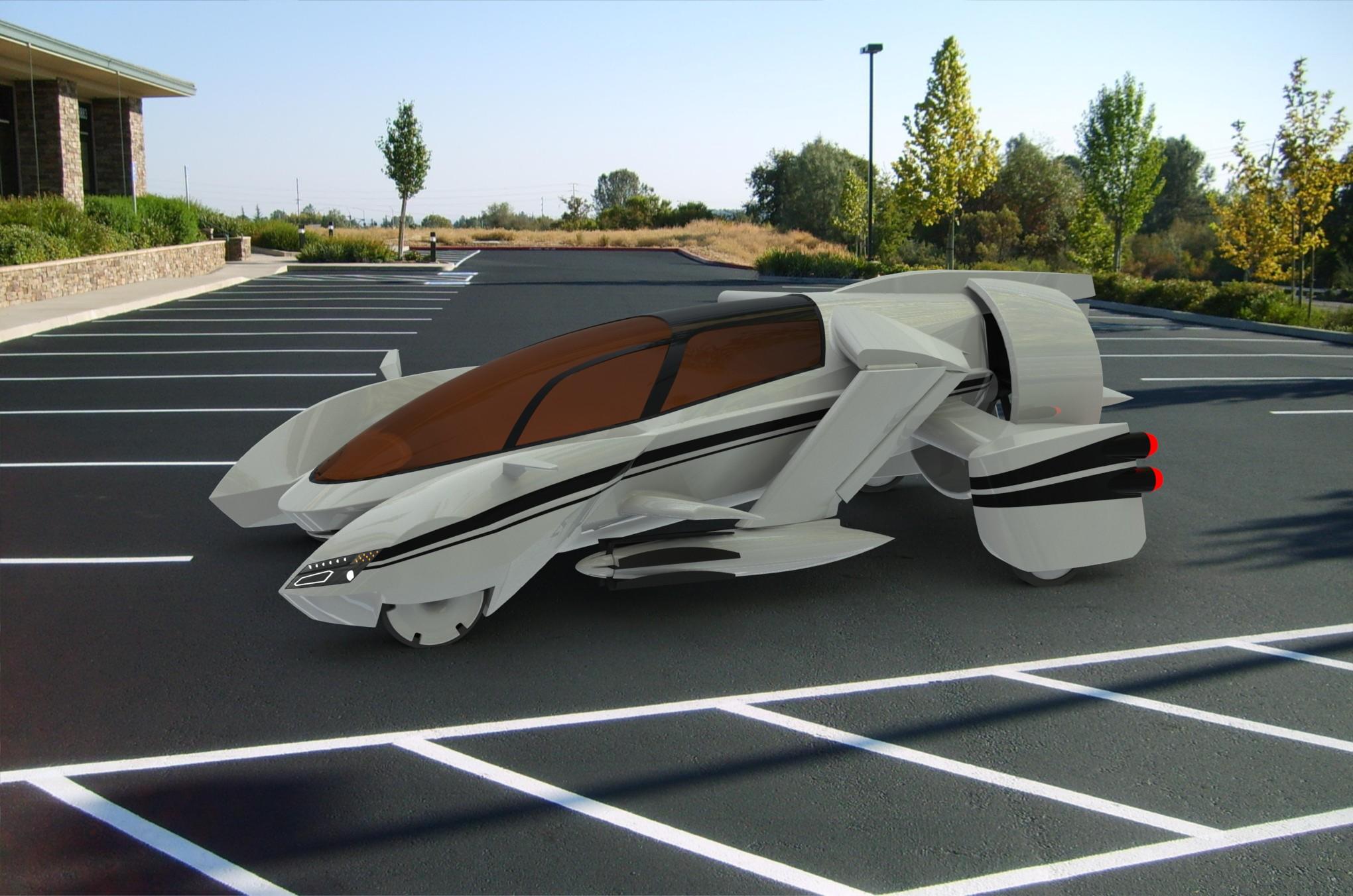 2014年美国tf-x飞行汽车概念设计挑战参赛作品ave-concept
