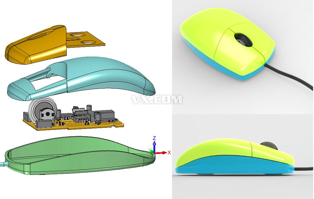 2014中国3d工业设计创新大赛作品展#优胜奖 炫酷鼠标