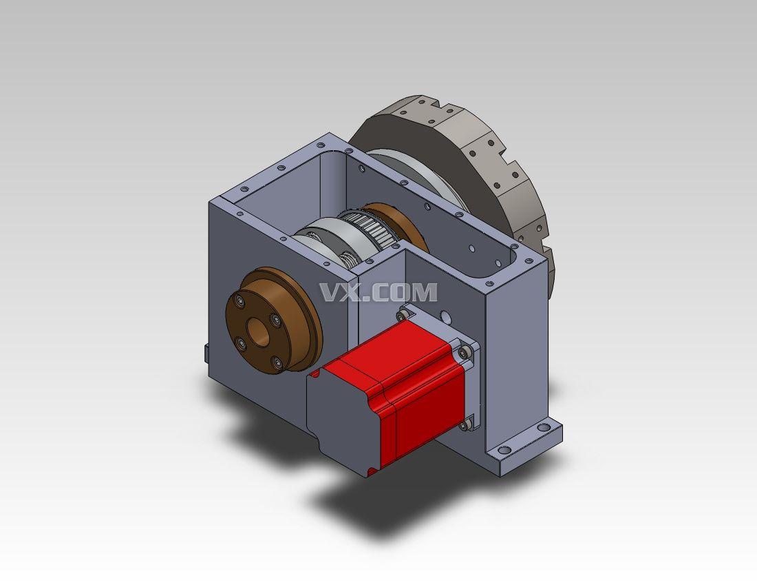 半闭环数控车床主轴系统的机械结构设计毕业设计(论文