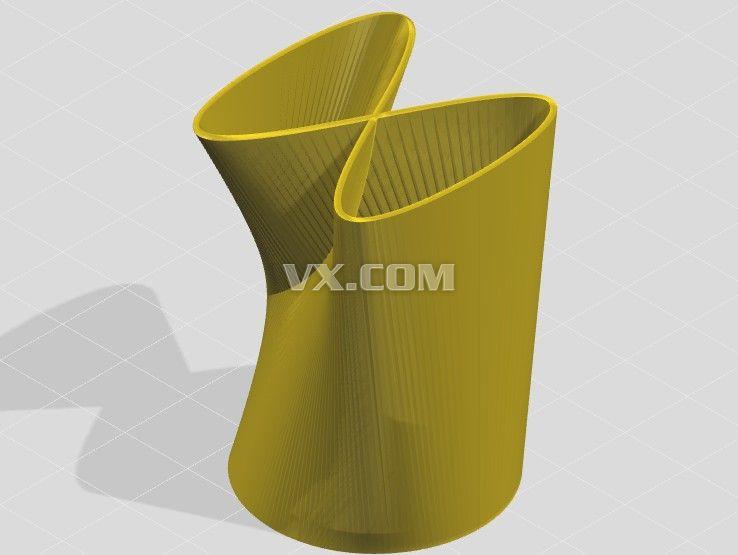 李薩育藝術造型花瓶設計