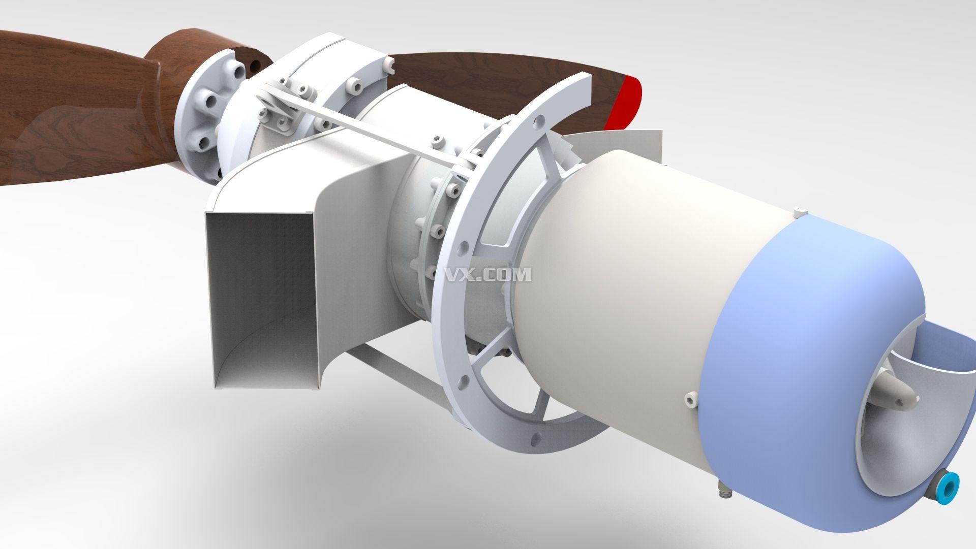 kj-66涡喷发动机-rc涡轮螺旋桨飞机