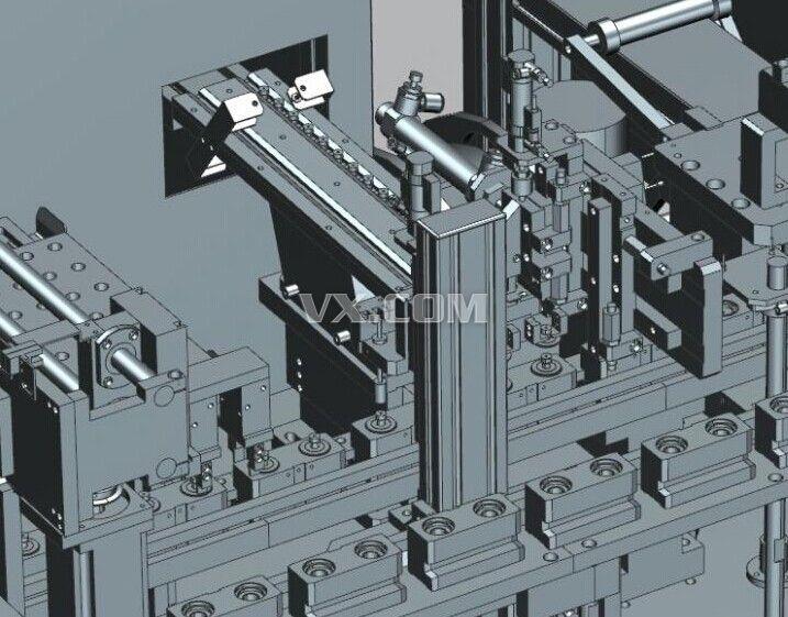 自动组装机_pro/e_机械设备