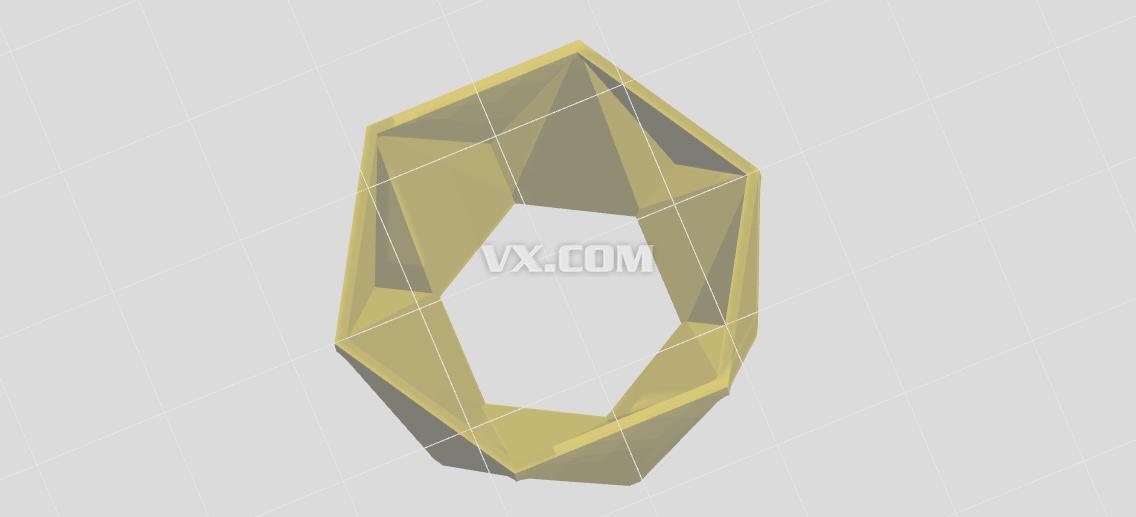 蜂巢造型_stl_创意设计图片