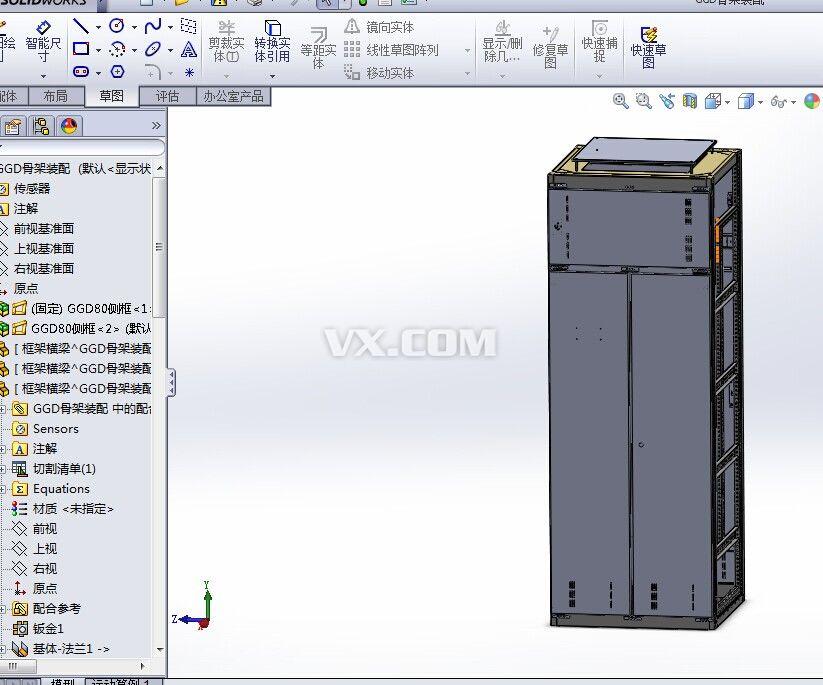 3d的电气模拟接线软件