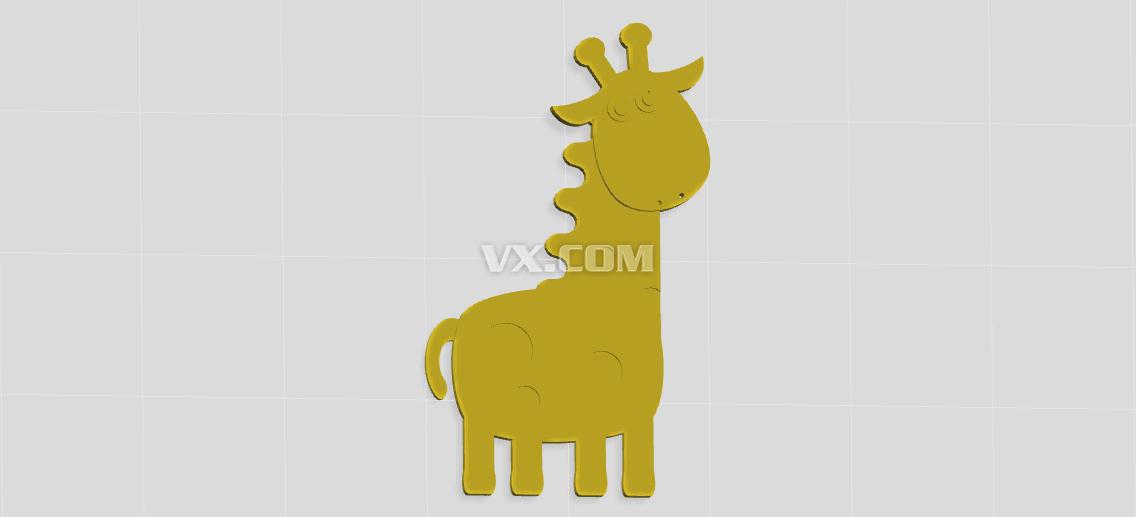 长颈鹿创意设计图展示