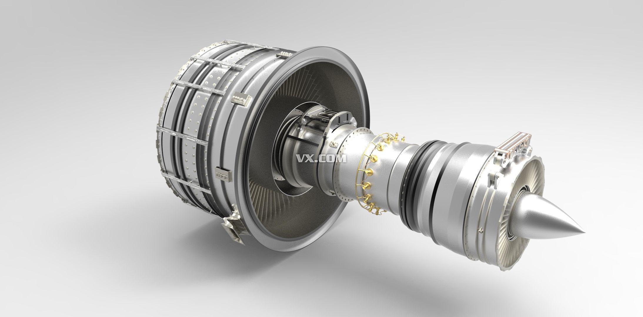 飞机涡轮发动机