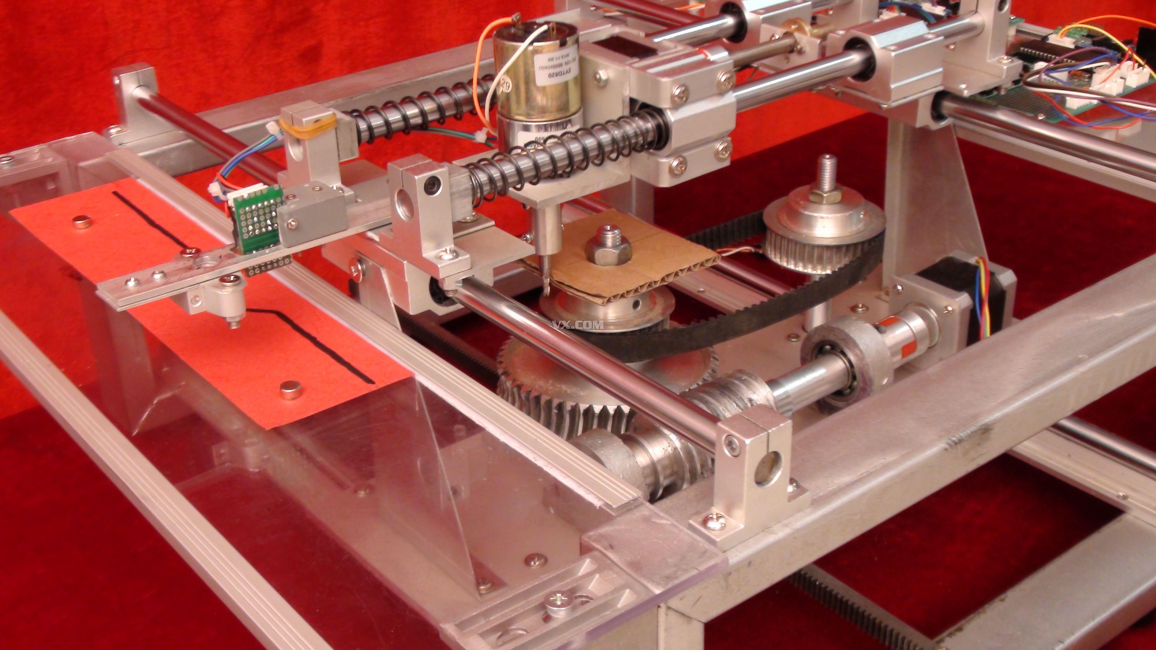 凸轮综合实验台-第六届全国大学生机械创新设计大赛图片