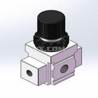 EAR2100-2带表调压阀装配体