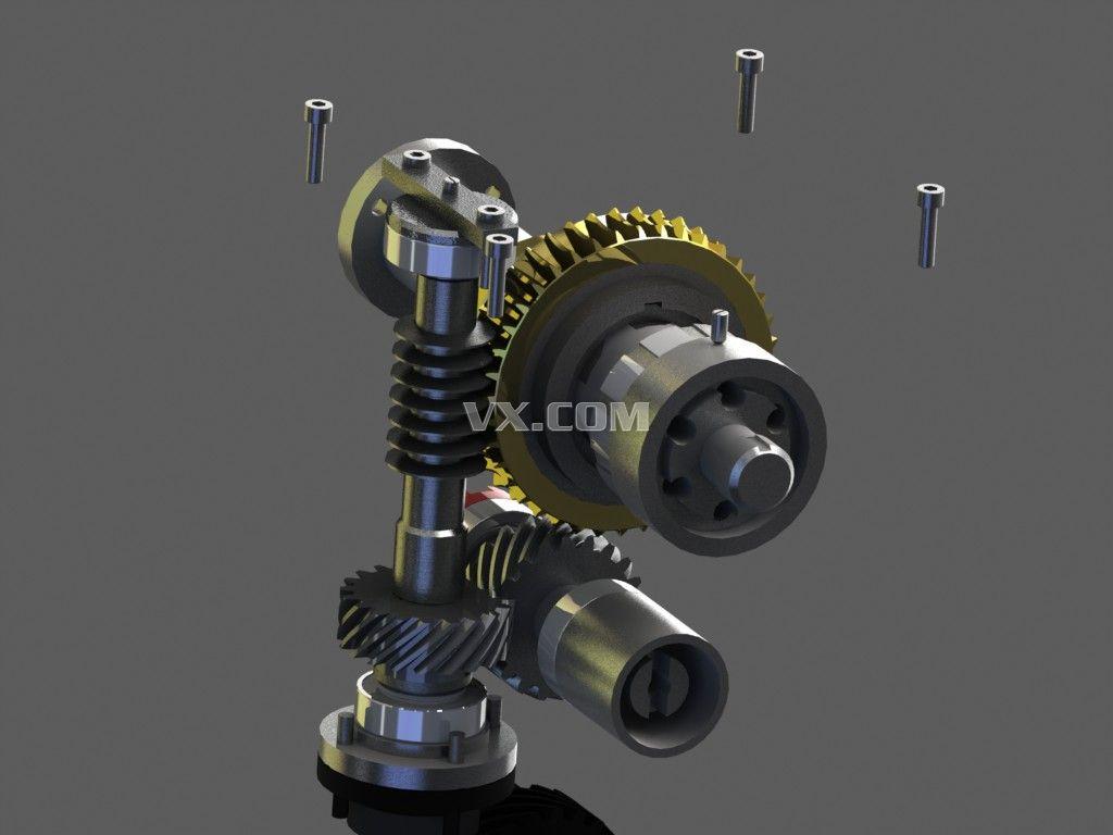 变速箱_step/stp_机械设备