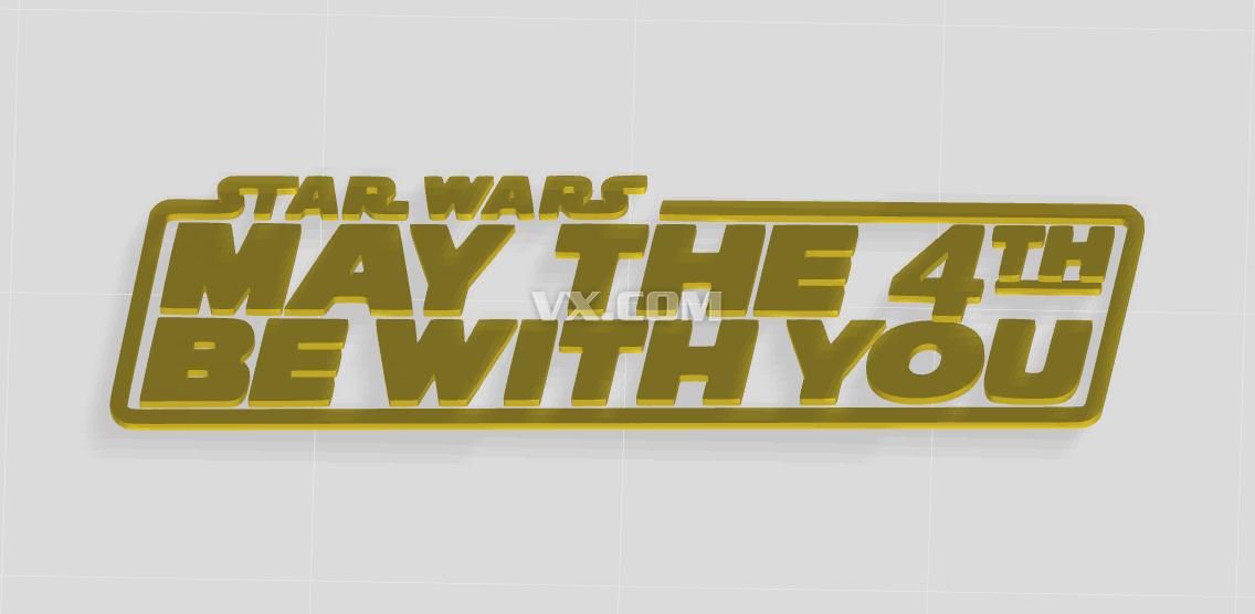 星球大战字母logo
