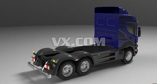 3d卡车模型下载_nx_交通工具