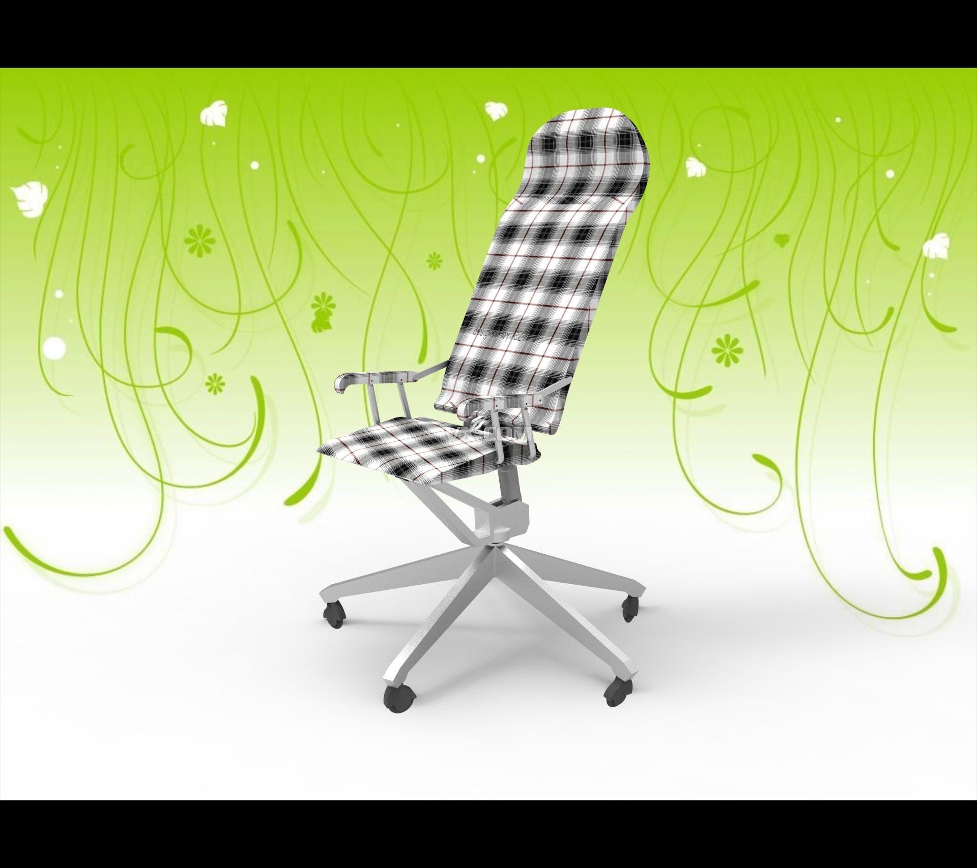 人机工程学休息椅