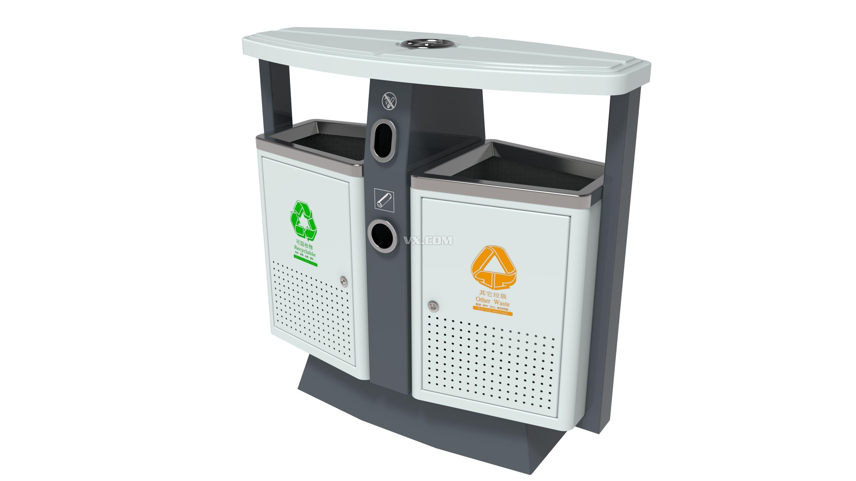 创意垃圾桶设计图展示图片
