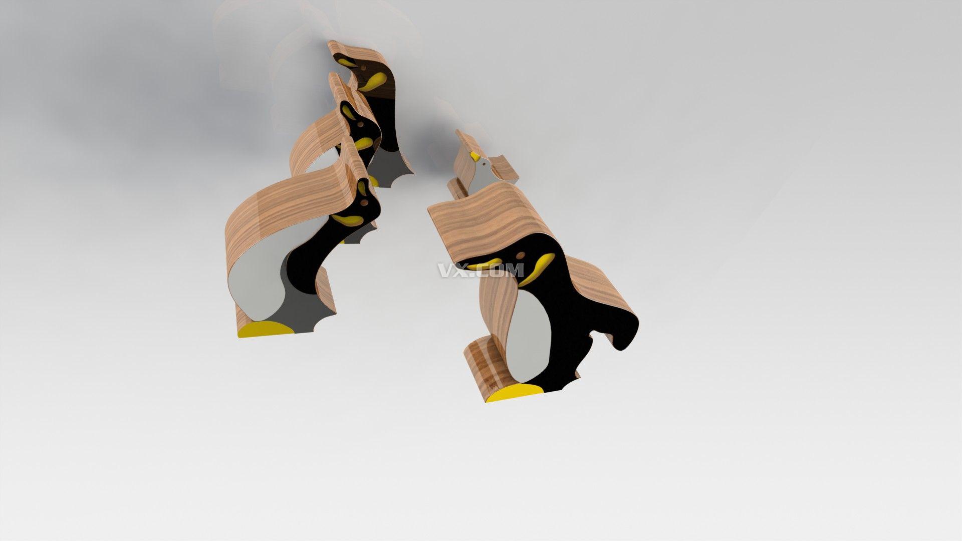 solidworks 创意木头拼图