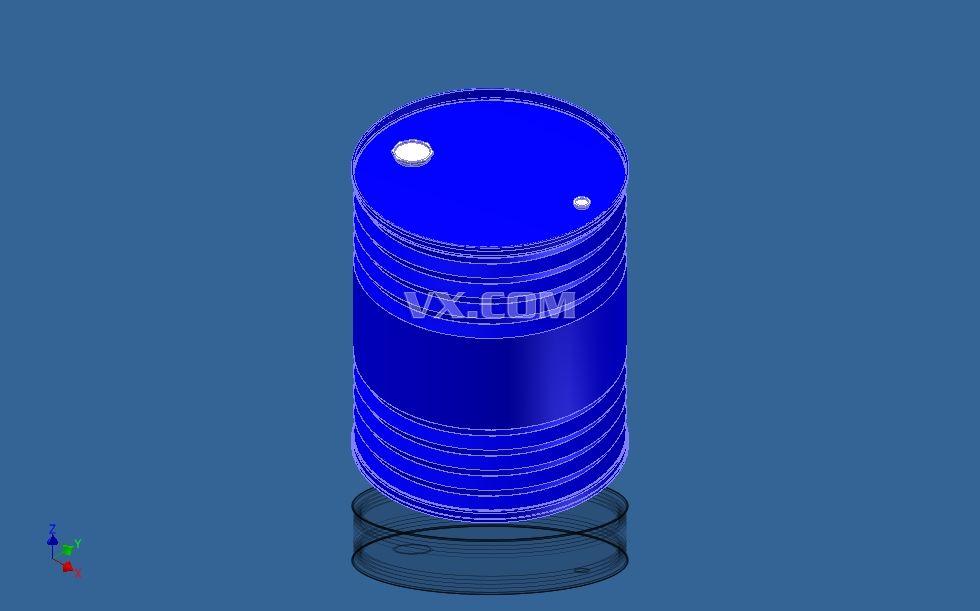 公升塑料汽油桶3d模型
