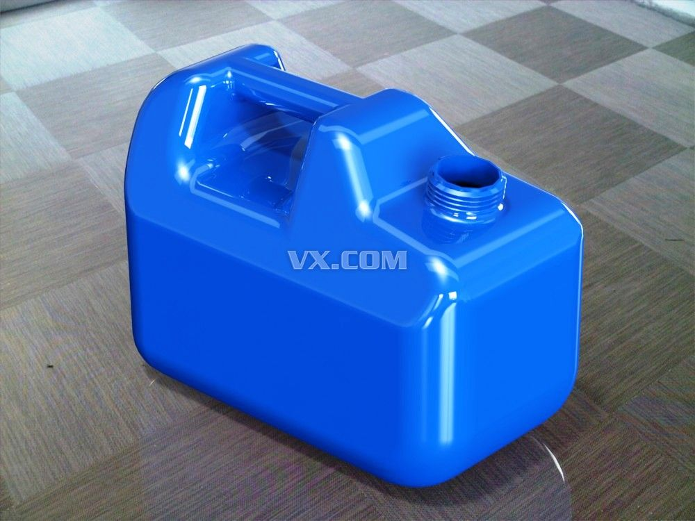 专用塑料汽油桶设计