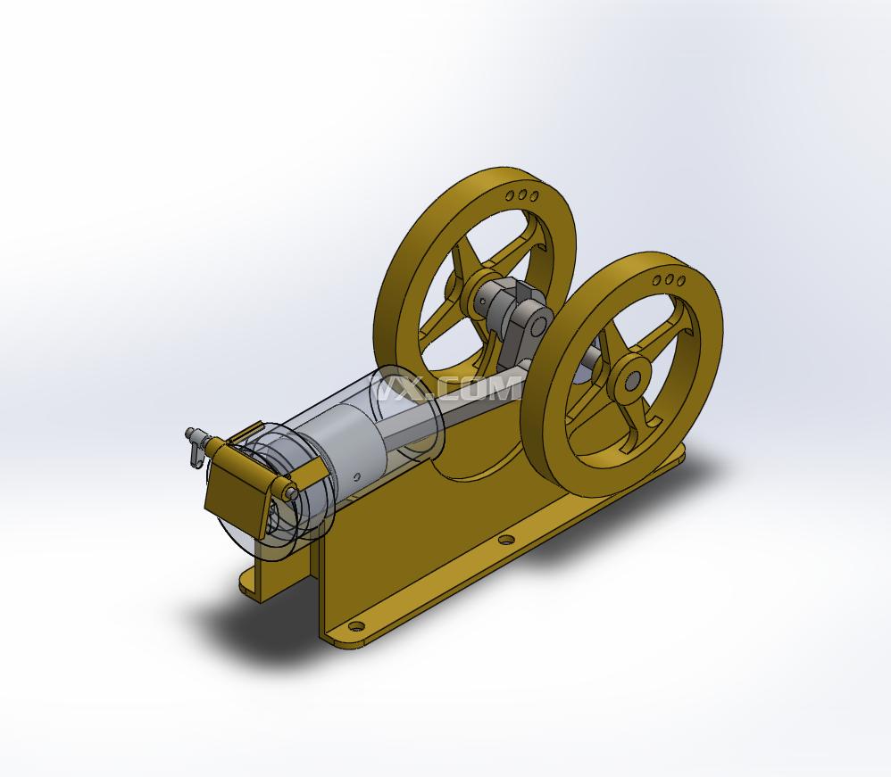 独光自制手摇发电机设计
