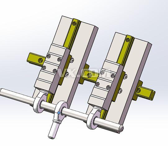 调节机构_solidworks_机械设备_3d模型_图纸下载_微小