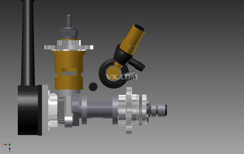 冲程汽油发动机设计