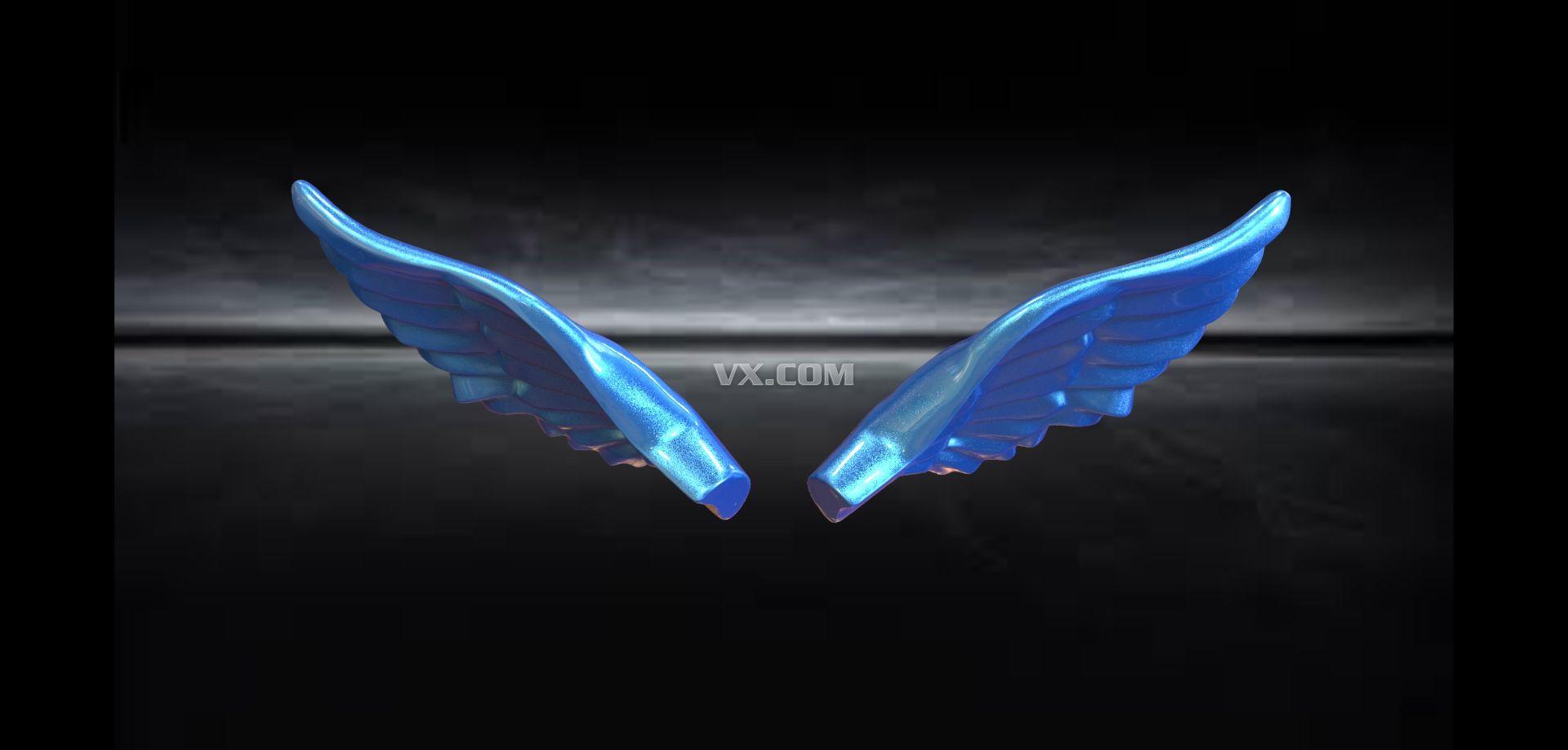 phtoshop翅膀形状素材