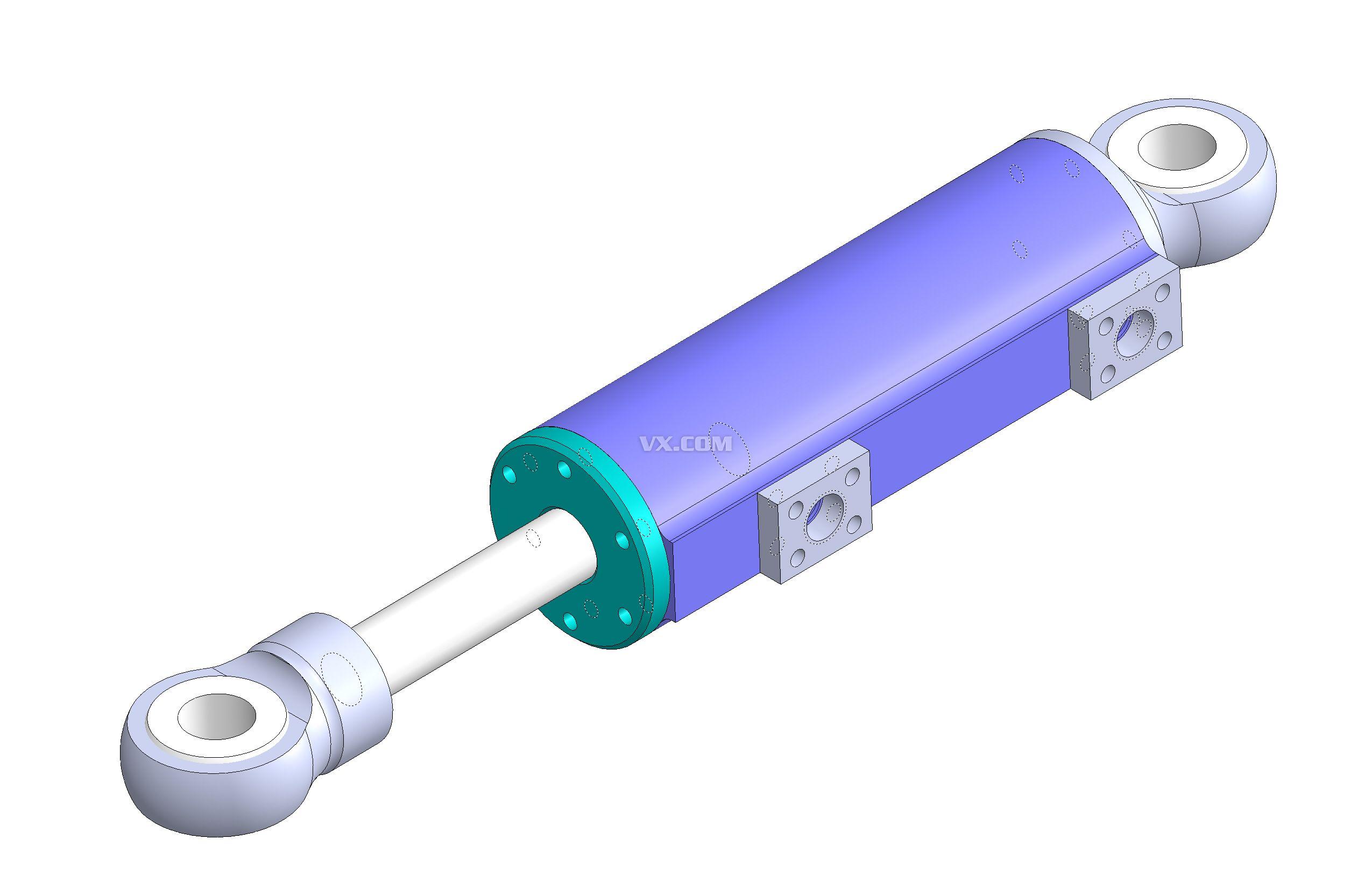 液压缸阻尼器设计图片