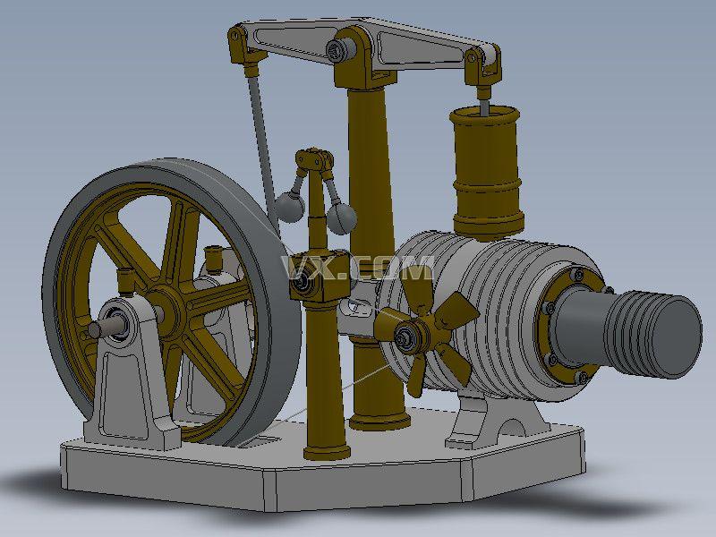 发动机3D图纸