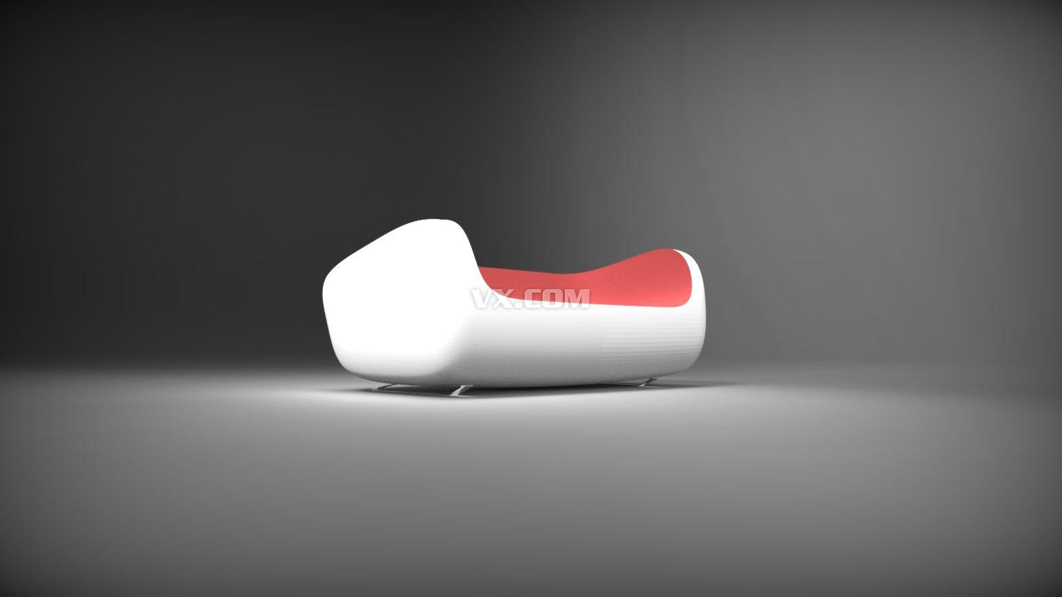 3dmax 沙发_3dsmax_家具_3d模型_图纸下载_微小网
