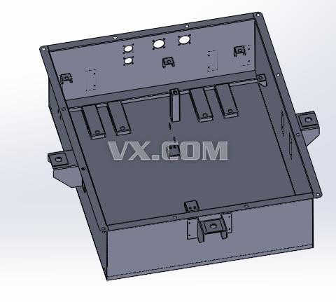 电池箱_solidworks_机械设备图片