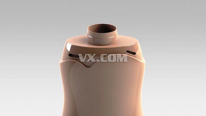 瓶子三维造型设计