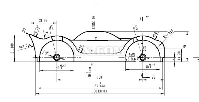 跑車組合設計圖紙_solidworks_交通工具_3d模型_圖紙