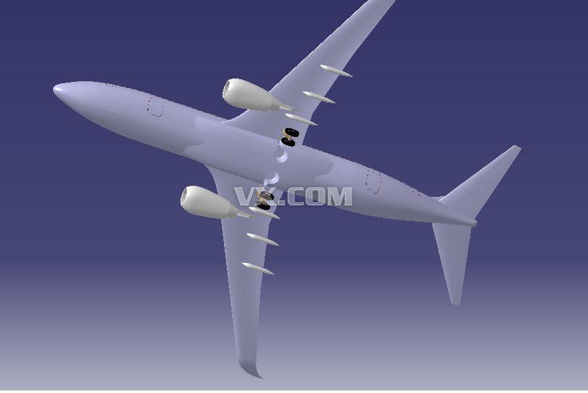 波音737客机设计图纸