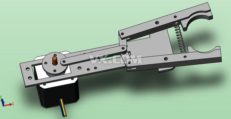 机械手臂设计_cad机械手臂设计图纸_机械力学与设计基础