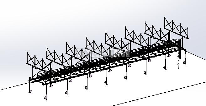 汽车焊装二次桁架钢结构