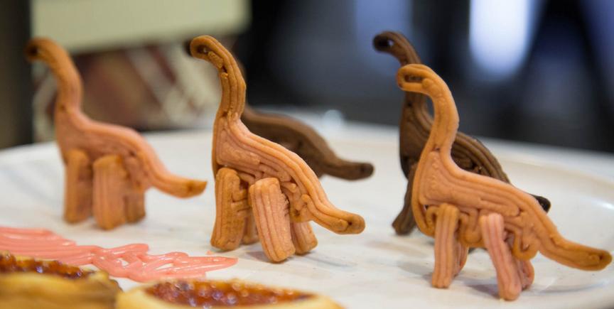 3d打印可爱的恐龙饼干
