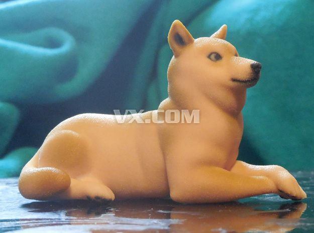 doge 3d printed figurines