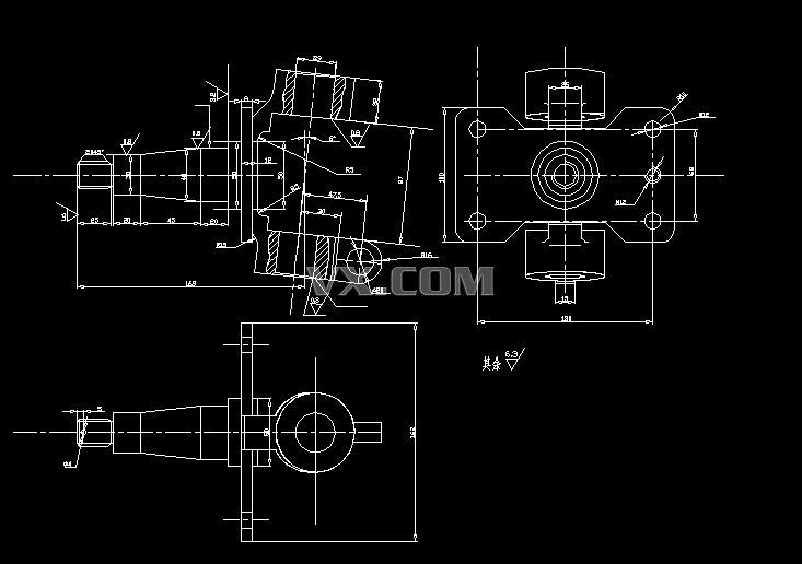 汽车机械转向机构设计(含全套