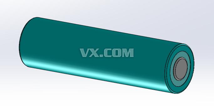 18650锂电池_solidworks图片