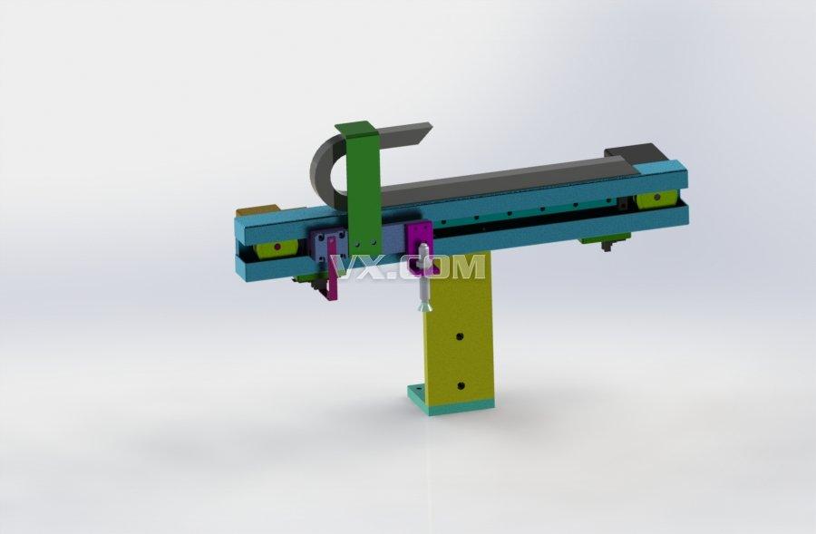 同步轮皮带结构模组行程500