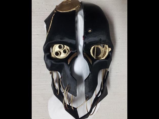耻辱面具_手工面具制作步骤图片_面具脸-青花图片